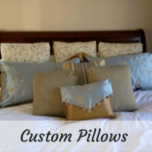 Custom Pillows and Upholstery in Central MA